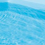 Piscine hors-sol bois BWT myPOOL ODYSSEA RECTANGLE 8x4 H146cm margelles havane liner bleu - Piscine bois BWT myPOOL ODYSSEA Complète et prête pour nager