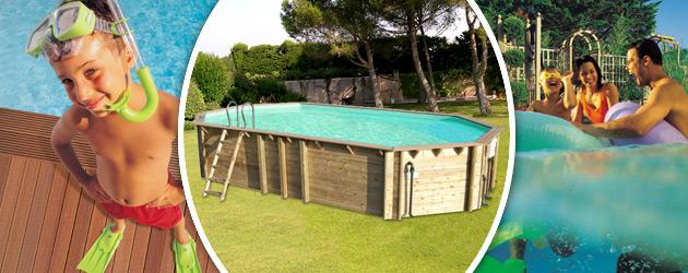 Piscine hors-sol bois BWT myPOOL ODYSSEA OCTO+ 840 H146cm margelles havane liner sable - Avantages des piscines bois BWT myPOOL ODYSSEA