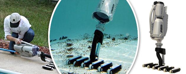 Aspirateur electrique Water Tech POOL BLASTER PRO 1500 pour piscines et spas - Caractéristiques de l'aspirateur piscine et spa WaterTech POOL BLASTER PRO 1500