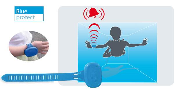 Alarme First Innov BLUE PROTECT avec son bracelet option PRIMAPROTECT - BLUE PROTECT L'assurance d'un sytème d'alarme encore plus efficace