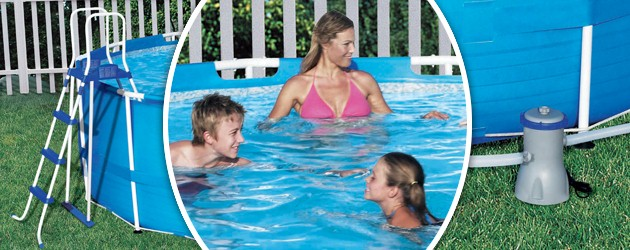 Kit piscine Bestway STEEL PRO MAX POOL ronde Ø366 x 122cm filtration cartouche - Avantages des piscines Bestway STEEL PRO MAX POOL