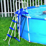 Kit piscine Bestway STEEL PRO FRAME POOL ronde Ø427 x 100cm filtration cartouche - Kit piscine complet Bestway STEEL PRO FRAME POOL