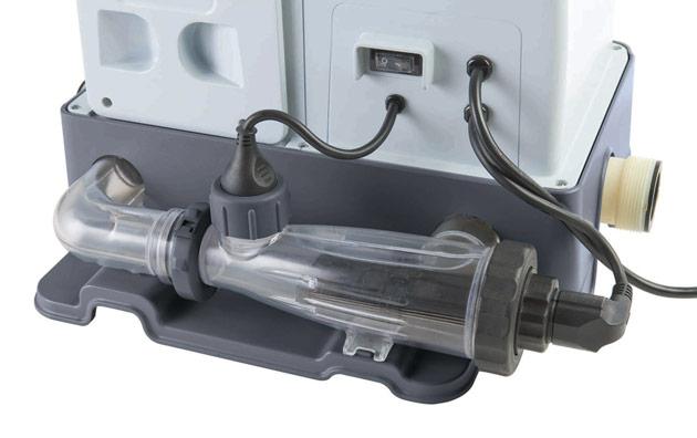 Ecosterilisateur Intex OZONATEUR puissance 120W pour piscine hors-sol jusqu'a 57m3 - Fonctionnement du traitement automatisé Intex KRYSTAL CLEAR OZONE