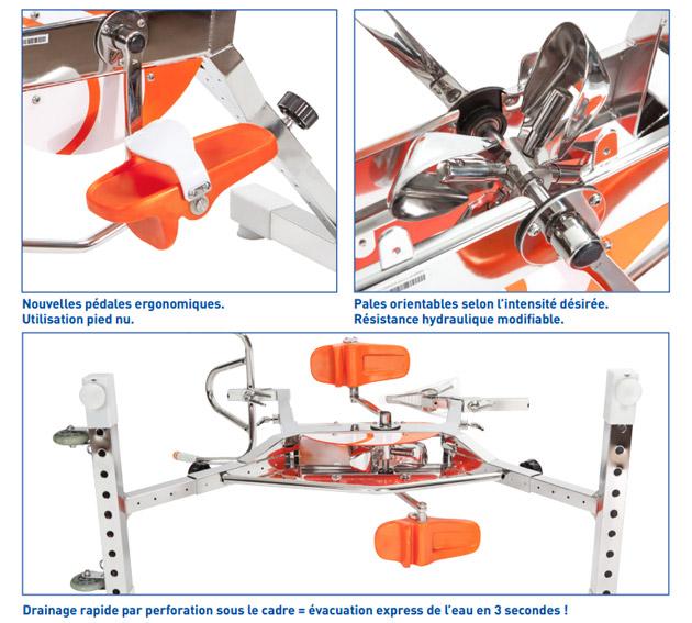 Aquabike Waterflex WR4 velo de piscine - Waterflex WR4 pour une remise en forme en douceur