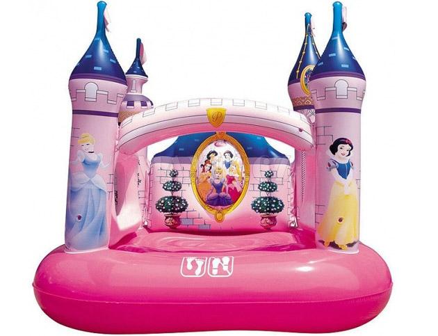 Aire de jeu gonflable Bestway CHATEAU DISNEY PRINCESSE 157 x 147 x 163cm pour enfants - Air de jeu gonflable Bestway Pour des heures d'amusement et de joie !