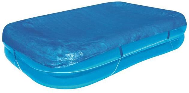 Bache 4 saisons Bestway pour piscine gonflable rectangulaire 305 x 183cm avec attaches - Bâche 4 saisons Bestway Pour une protection maximale de votre bassin