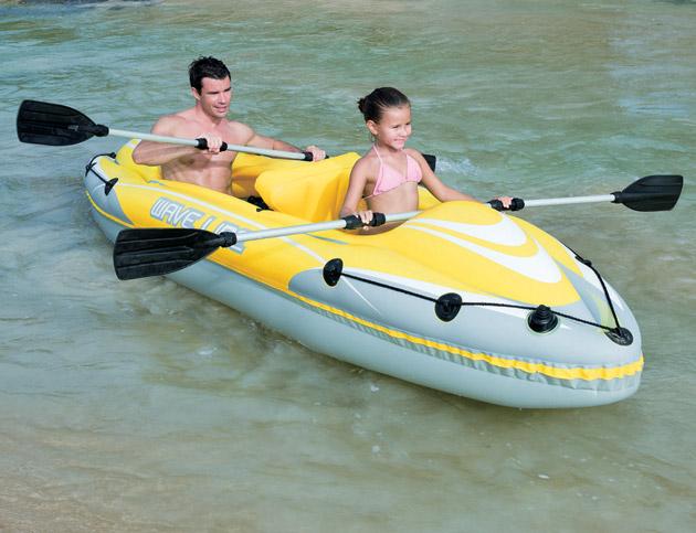 Kayak gonflable Bestway WAVE LINE 357 x 75 x 41cm 2 adultes - Kayak gonflable Bestway Pour des heures d'amusement et de joie