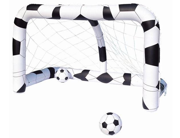 But gonflable Bestway FOOTBALL 213 x 122 x 137cm + 2 ballons Ø36cm - But gonflable Bestway Pour des heures d'amusement et de joie