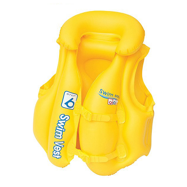 Gilet gonflable Bestway SWIM SAFE 52 x 47cm pour enfant - Gilet gonflable Bestway Pour des heures d'amusement et de joie en toute sécurité