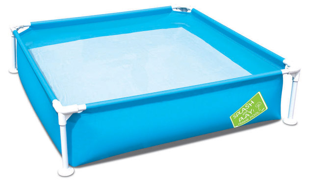 Piscine hors-sol tubulaire Bestway SPLASH AND PLAY 122 x 122 x 30cm bleue - Piscines hors-sol tubulaires Bestway SPLASH AND PLAY Sécurité et amusement