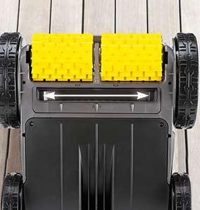Robot piscine electrique Zodiac VORTEX OV3400 avec chariot - Robot piscine électrique Zodiac VORTEX OV3400 Pour un nettoyage en profondeur de votre bassin