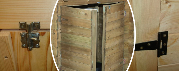 Coffre de filtration bois Ubbink CLASSIC 117 x 120 x 104cm pour piscine - Avantages et caractéristiques du coffre de filtration Ubbink CLASSIC