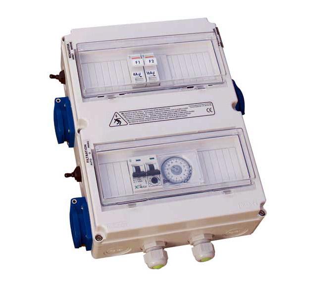 Coffret electrique Poolstar POOLEX MONO 32A pour pompe a chaleur - Caractéristiques techniques et avantages du coffret électrique Poolstar POOLEX MONO