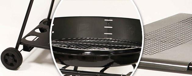 Barbecue Somagic ATLAS au charbon de bois - Somagic, une marque de renom depuis 30 ans
