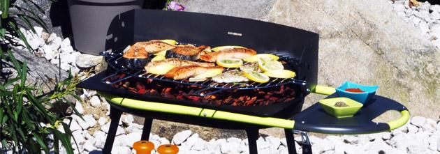 Barbecue Somagic QOOKA F550 au charbon de bois - Somagic, une marque de renom depuis 30 ans