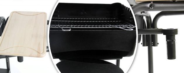 Barbecue four a pizza Somagic ROMA au charbon de bois - Somagic, une marque de renom depuis 30 ans