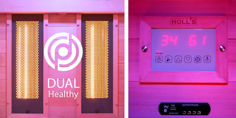 Sauna cabine infrarouge Holl's MULTIWAVE 2 puissance 2150W - Les origines du sauna La Finlande