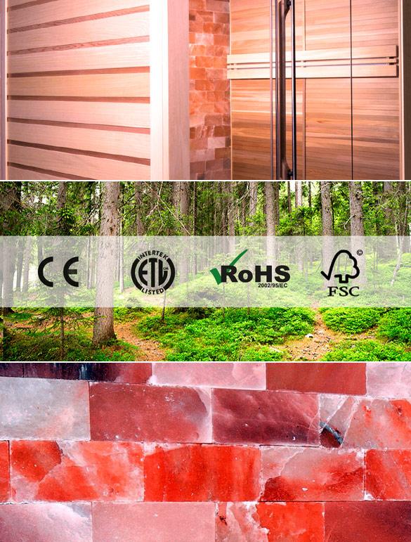 Sauna cabine vapeur Holl's ALTO VAP PREMIUM bois naturel - Sauna cabine vapeur Holl's ALTO VAP PREMIUM Qualité et finition exemplaire