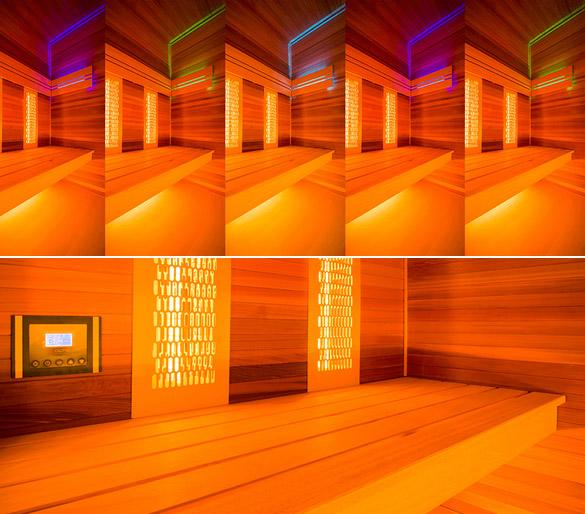 Sauna cabine vapeur et infrarouge Holl's HYBRIDE COMBI bois naturel - Sauna cabine vapeur Holl's HYBRIDE COMBI Ingénieux et polyvalent