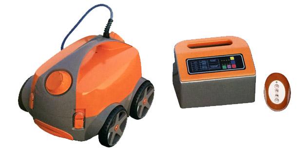 Robot piscine electrique Predator PRO ORANGE avec telecommande - Predator PRO ORANGE Efficace et télécommandé