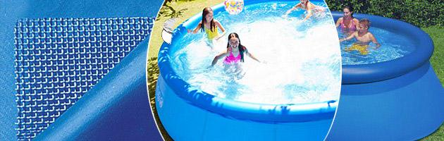 Piscine hors sol autostable intex easy set ronde sans - Filtration piscine hors sol intex ...