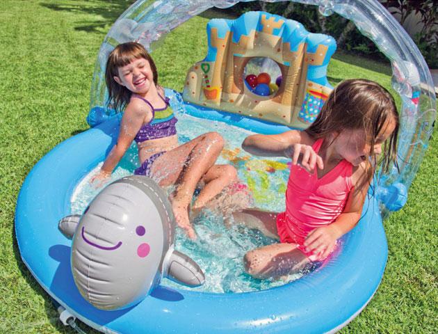 Aire de jeu gonflable Intex BEACH PARTY dimensions 170 x 150 x 81cm - Avantages et caractéristiques de l'aire de jeu gonflable Intex BEACH PARTY
