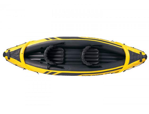Canoe gonflable Intex EXPLORER K2 dimensions 312 x 91 x 51cm 2 personnes - Avantages et caractéristiques du canoe gonflable Intex EXPLORER K2