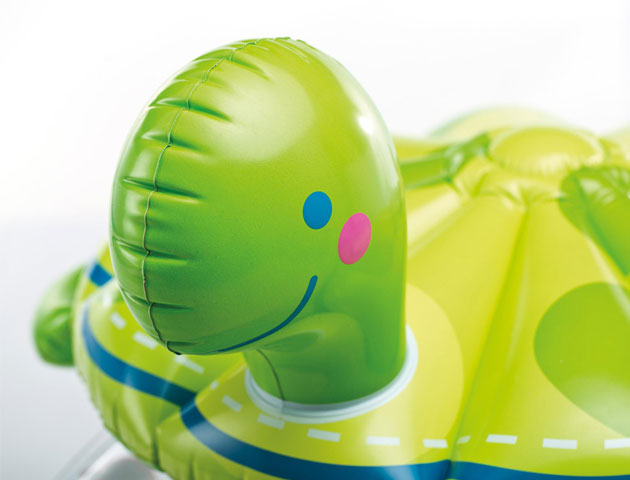 Pataugette gonflable Intex TORTUE ronde dimensions Ø104 x 104cm avec paresoleil - Avantages et caractéristiques de la pataugette gonflable Intex TORTUE