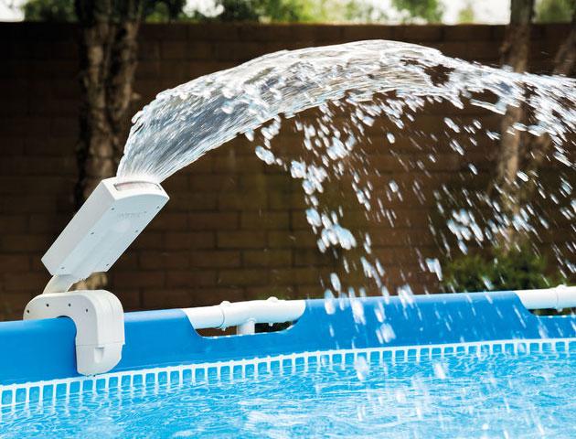 Fontaine Intex LED MULTICOLORE pour piscine tubulaire Intex - Avantages et caractéristiques de la fontaine Intex LED MULTICOLORE