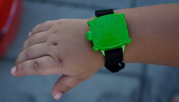 Bracelet enfant pour alarme SAFETY TURTLE 2.0 - Bracelet enfant supplémentaire kit d'alarme SAFETY TURTLE 2.0
