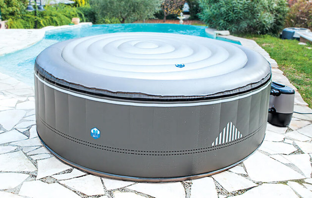 Couvercle gonflable NetSpa ISOTHERMA pour spa rond MALIBU ou MONTANA 4 places - Couvercle gonflable NetSpa ISOTHERMA pour spa rond MALIBU ou MONTANA 4 places