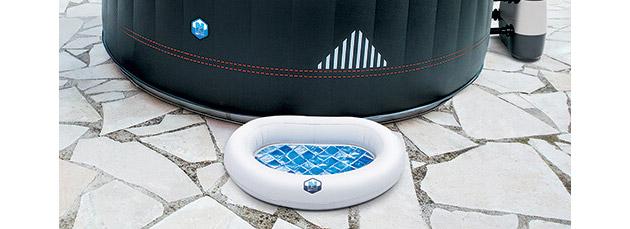 Pediluve gonflable NetSpa FEET pour spa - Pédiluve gonflable NetSpa Pour conserver une eau propre et saine