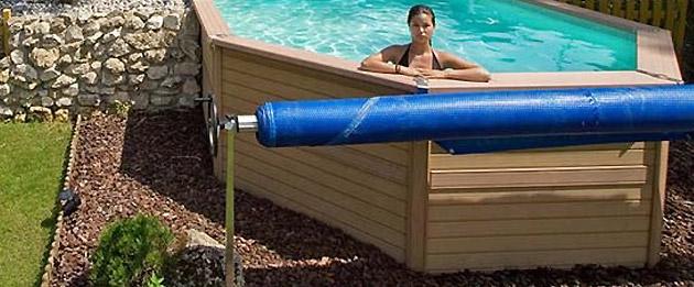 Enrouleur Zodiac Original ROLL pour piscine de 4 a 5,50m - Enrouleur Zodiac Original ROLL Pour stocker en sécurité votre couverture lors de la baignade