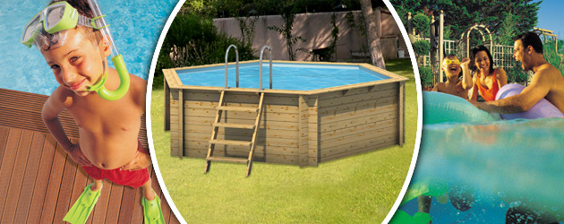 Piscine hors-sol bois ProSwell HEXA 410 H120cm - Avantages des piscines bois ProSwell TROPIC