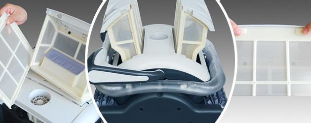 Robot piscine electrique Bestway RAPTOR LED - Bestway RAPTOR Rapide, précis et redoutable d'efficacité