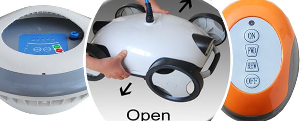 Robot piscine electrique sans fil FALCON PLUS Bestway - Robot piscine sans fil FALCON PLUS Bestway  Technologie novatrice