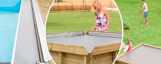 Piscine hors-sol bois BWT myPOOL Pistoche pour enfants 2.26x2.26x0.68m - Avantages de la piscinette hors sol pour enfant Pistoche
