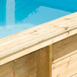 Piscine bois hors-sol Proswell Tropic Junior 2x2x0.64m - Les piscines TROPIC JUNIOR La piscine n'est plus un luxe !
