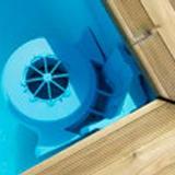 Piscine bois hors-sol BWT myPOOL Tropic Junior 2x2x0.64m - Les piscines TROPIC JUNIOR La piscine n'est plus un luxe !