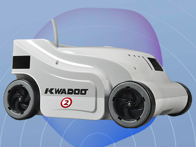Robot piscine electrique KWADOO 2 Quadrijets - Robot piscine électrique KWADOO 2 Un nettoyage méthodique et durant toute l'année