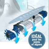 Robot aspirateur de piscine HEXAGONE PEPS 200 - Le robot aspirateur de piscine HEXAGONE PEPS 200  un concentré de technologie