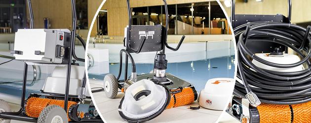 Robot de piscine electrique Hexagone CHRONO MP3 M avec radiocommande - Le robot piscine électrique professionnel Hexagone CHRONO MP3 M