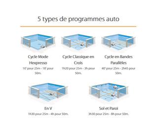 Robot de piscine electrique Hexagone VISIO XL avec camera embarquee - Le robot piscine électrique professionnel Hexagone VISIO XL