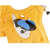 HEXABIKE PREMIUM velo de piscine orange HEXAGONE - Caractéristiques du vélo de piscine HEXABIKE PREMIUM orange HEXAGONE
