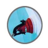 Nettoyeur des abords pour piscines collectives LINEO HEXAGONE - Fonctions du nettoyeur LINEO HEXAGONE