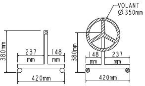 Enrouleur couverture WALU SUMMER ECLIPSE BASIC MOBILE - Détails de l'enrouleur couverture WALU SUMMER ECLIPSE BASIC MOBILE pour piscines enterrées de 4 à 5m