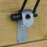 Couverture de securite a barres WALU POOL WOODSTAR amande - Caractéristiques de la couverture de sécurité à barres WALU POOL WOODSTAR amande