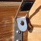 Couverture de securite a barres WALU POOL WOODSTAR 4 saisons NFP90-308 - Un système d'attache rapide Sécurité et fixation de la couverture