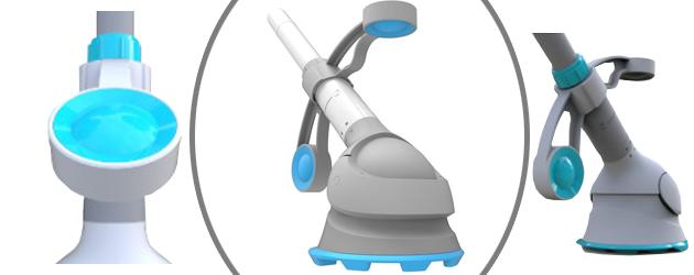Robot piscine hydraulique hors-sol Kokido KRILL pour filtration 3,8m³/h - Kokido KRILL, robot automatique pour piscine hors-sol