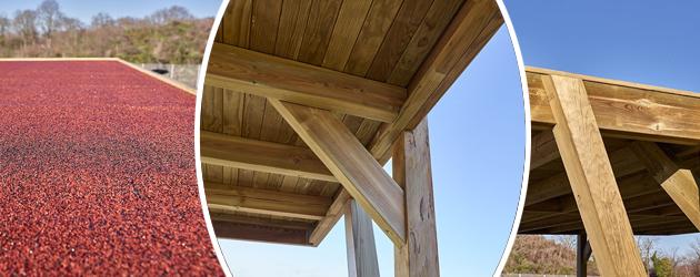 Carport bois CARPROTECT 34m² 2 voitures - Abri de voiture Carport bois CARPROTECT 34m² esthétique et moderne